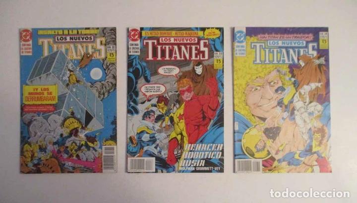Cómics: COLECCION DE 30 COMICS: LOS NUEVOS TITANES - EDICIONES ZINCO - Foto 9 - 248471365