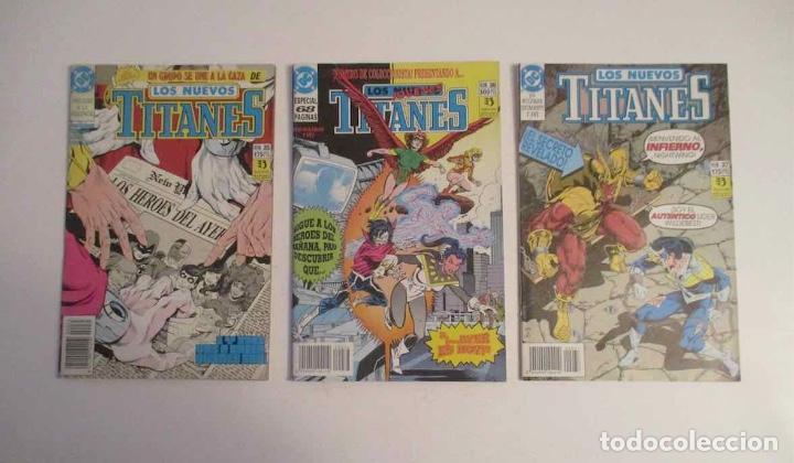 Cómics: COLECCION DE 30 COMICS: LOS NUEVOS TITANES - EDICIONES ZINCO - Foto 10 - 248471365
