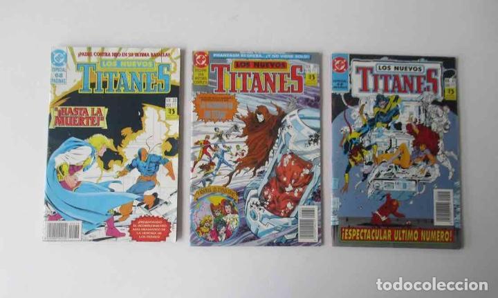 Cómics: COLECCION DE 30 COMICS: LOS NUEVOS TITANES - EDICIONES ZINCO - Foto 11 - 248471365