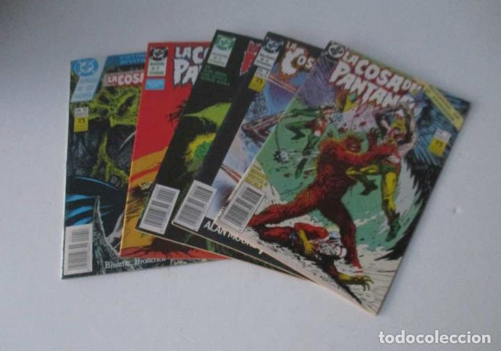 5 COMICS - LA COSA DEL PANTANO - Nº: 3, 7, 8, 9, 10, Y 12 (Tebeos y Comics - Zinco - Cosa del Pantano)