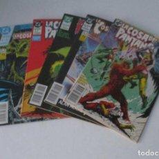 Cómics: 5 COMICS - LA COSA DEL PANTANO - Nº: 3, 7, 8, 9, 10, Y 12. Lote 248486755