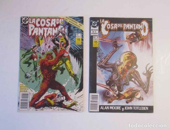 Cómics: 5 COMICS - LA COSA DEL PANTANO - Nº: 3, 7, 8, 9, 10, y 12 - Foto 2 - 248486755