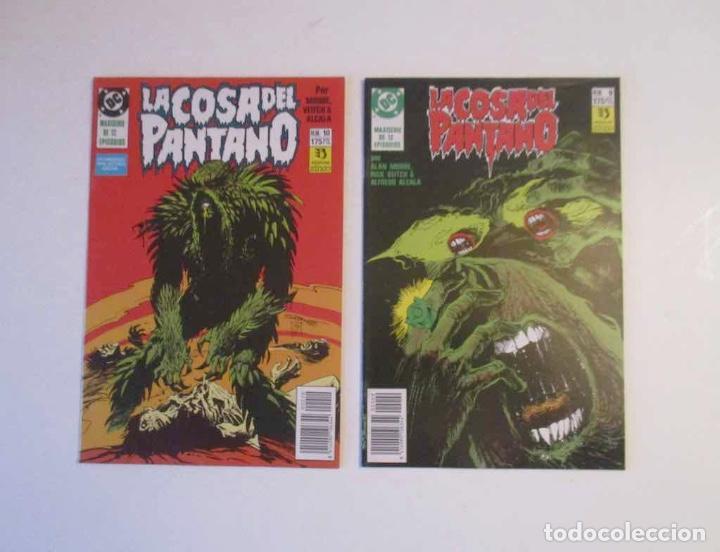 Cómics: 5 COMICS - LA COSA DEL PANTANO - Nº: 3, 7, 8, 9, 10, y 12 - Foto 3 - 248486755