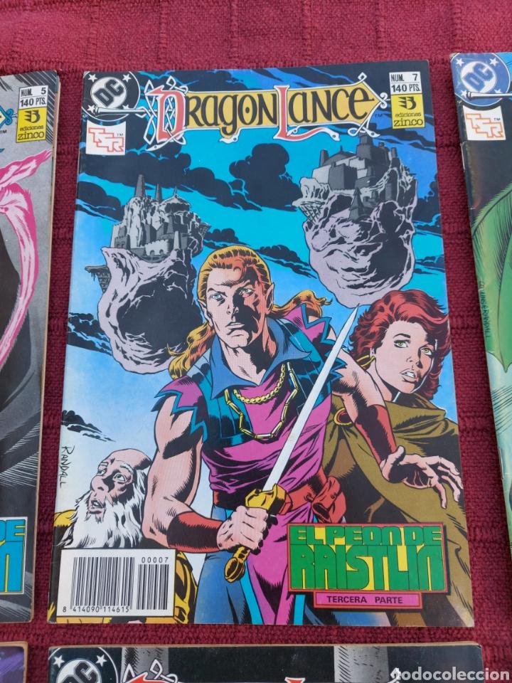 Cómics: DRAGONLANCE LOTE DE 6 COMIC EDICIONES ZINCO DC/DRAGONES/MAGIA/BRUJERIA/ESPADA/AVENTURAS/MITOLOGICAS - Foto 3 - 248733855