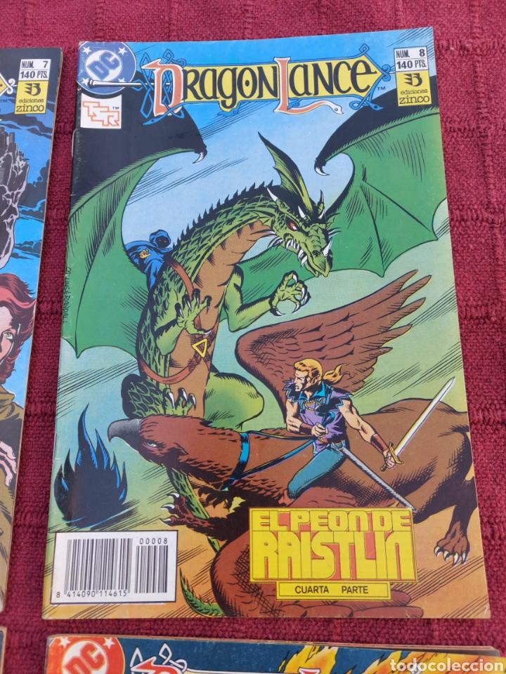 Cómics: DRAGONLANCE LOTE DE 6 COMIC EDICIONES ZINCO DC/DRAGONES/MAGIA/BRUJERIA/ESPADA/AVENTURAS/MITOLOGICAS - Foto 4 - 248733855