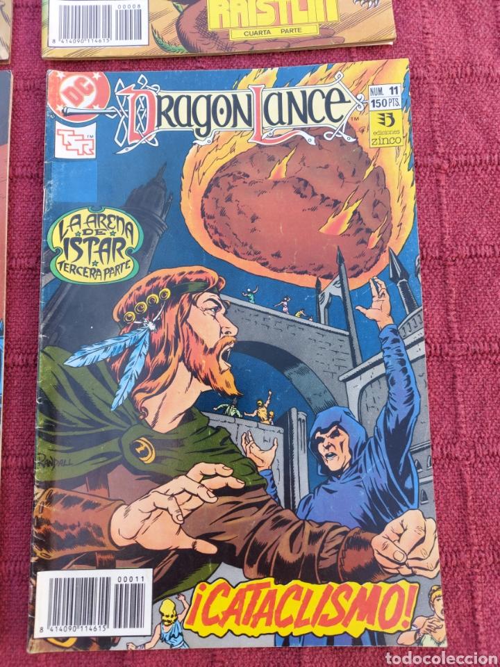 Cómics: DRAGONLANCE LOTE DE 6 COMIC EDICIONES ZINCO DC/DRAGONES/MAGIA/BRUJERIA/ESPADA/AVENTURAS/MITOLOGICAS - Foto 7 - 248733855