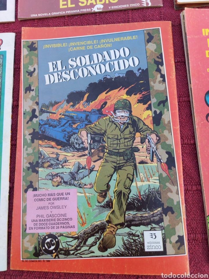 Cómics: DRAGONLANCE LOTE DE 6 COMIC EDICIONES ZINCO DC/DRAGONES/MAGIA/BRUJERIA/ESPADA/AVENTURAS/MITOLOGICAS - Foto 13 - 248733855