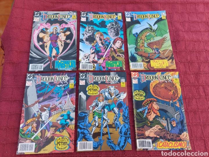 DRAGONLANCE LOTE DE 6 COMIC EDICIONES ZINCO DC/DRAGONES/MAGIA/BRUJERIA/ESPADA/AVENTURAS/MITOLOGICAS (Tebeos y Comics - Zinco - Otros)