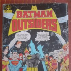 Comics : BAT MAN Y LOS OUTSIDERS. Lote 248935900