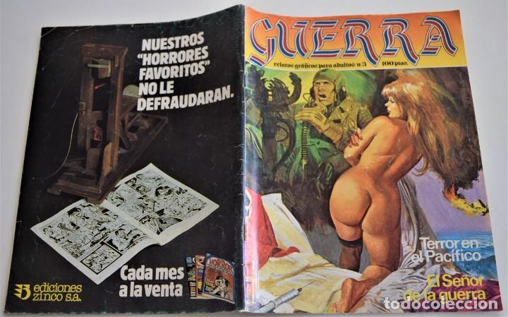 Cómics: GUERRA, RELATOS GRÁFICOS PARA ADULTOS Nº 3 - Foto 2 - 249512845