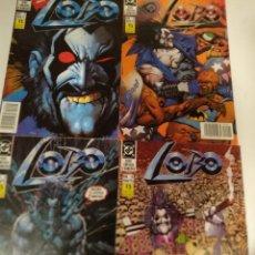 Cómics: LOBO. 1ª EDICIÓN EN CASTELLANO. COMPLETA. 4 NÚMEROS. GRANT/BISLEY. ZINCO 1991. Lote 249609680