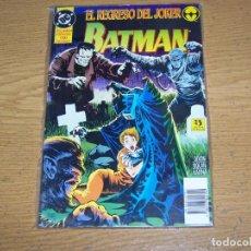Comics : ZINCO BATMAN EL REGRESO DEL JOKER. Lote 250112280