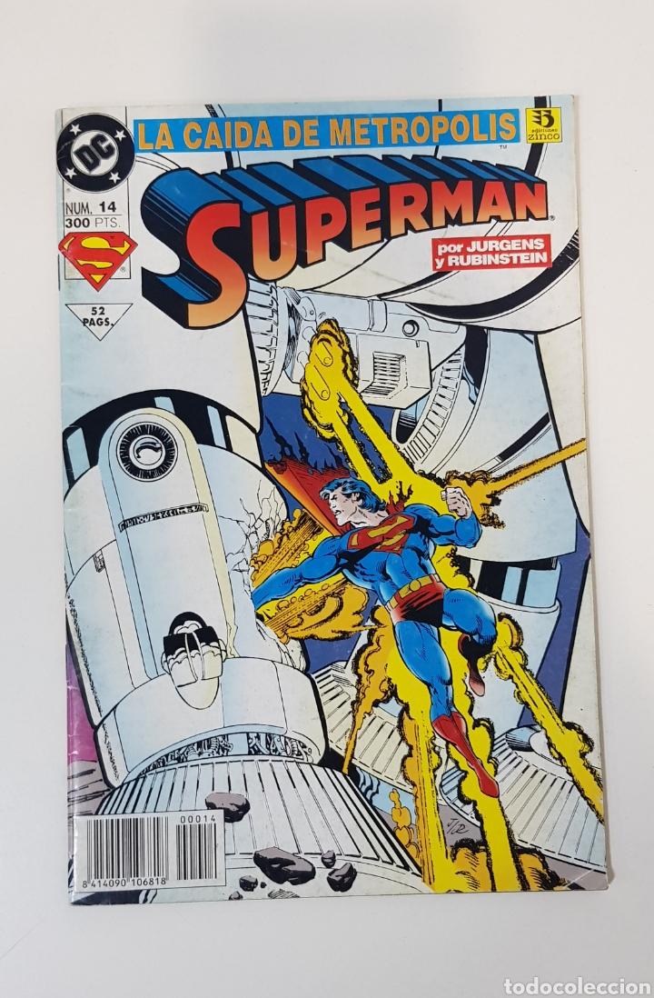 SUPERMA N° 14 LA CAIDA DE METROPOLIS - EDICIONES ZINCO (Tebeos y Comics - Zinco - Superman)