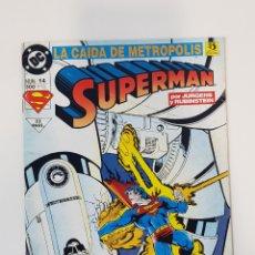 Cómics: SUPERMA N° 14 LA CAIDA DE METROPOLIS - EDICIONES ZINCO. Lote 250124070
