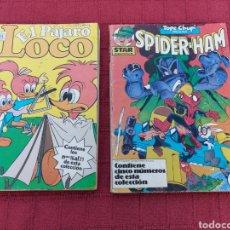 Cómics: EL PAJARO LOCO EDICIONES ZINCO-SPIDER-HAM-HEATHCLIFF,PLANET TERRY-RETAPADOS ZINCO Y FORUM STAR COMIC. Lote 251038625