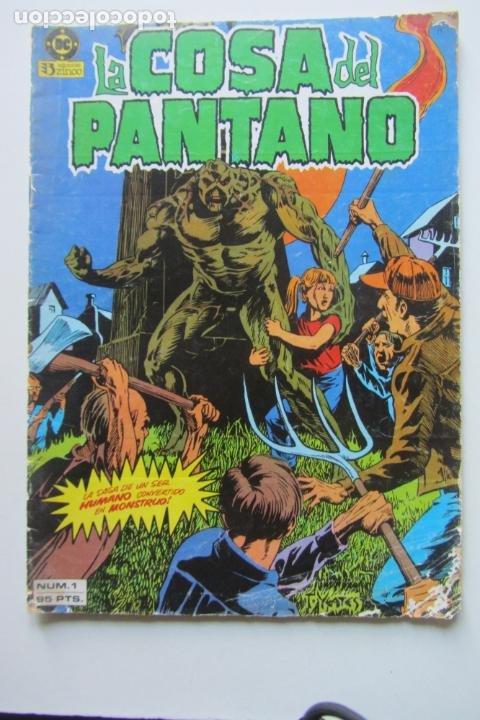 LA COSA DEL PANTANO VOL 1 Nº 1 ZINCO MUCHOS EN VENTA MIRA TUS FALTAS ARX80 (Tebeos y Comics - Zinco - Cosa del Pantano)