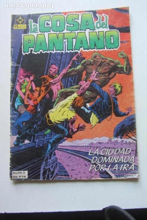 LA COSA DEL PANTANO VOL 1 Nº 3 ZINCO MUCHOS EN VENTA MIRA TUS FALTAS ARX80 (Tebeos y Comics - Zinco - Cosa del Pantano)