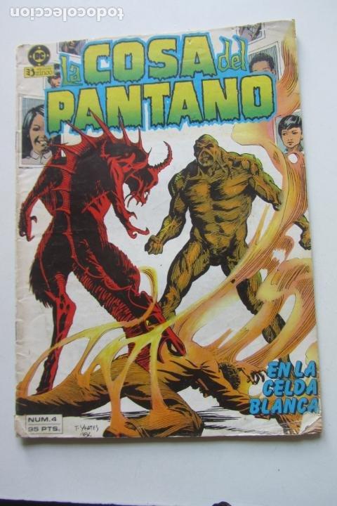 LA COSA DEL PANTANO VOL 1 Nº 4 ZINCO MUCHOS EN VENTA MIRA TUS FALTAS ARX80 (Tebeos y Comics - Zinco - Cosa del Pantano)
