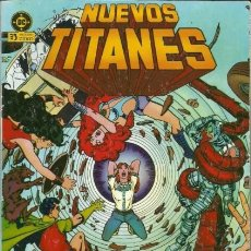 Cómics: NUEVOS TITANES-ZINCO-TOMO RETAPADO-Nº 4 -GRAN GEORGE PEREZ-1988-BUENO-MUY DIFÍCIL-LEA-4473. Lote 251653095