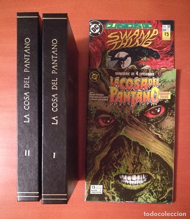 Cómics: La Cosa del Pantano Ediciones Zinco Lote colecciones - Foto 4 - 251689130