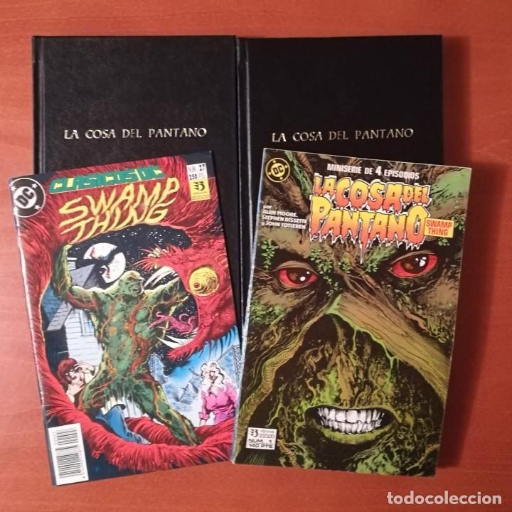 LA COSA DEL PANTANO EDICIONES ZINCO LOTE COLECCIONES (Tebeos y Comics - Zinco - Cosa del Pantano)