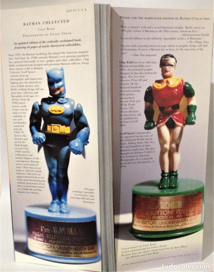 Cómics: BATMAN COLLECTED. CHIP KIDD. DC COMICS 2001. - Foto 4 - 251922315