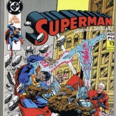 Cómics: SUPERMAN RETAPADO 28. CONTIENE LOS NUMEROS 96 A 99 (DAN JURGENS, JERRY ORDWAY Y OTROS DIBUJANTES). Lote 252268115
