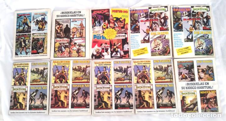 Cómics: Zagor lote 10 comics del n° 1 al 10 Edit Zinco año 82 - Foto 3 - 252426310