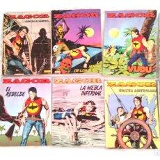 Cómics: ZAGOR LOTE 10 COMICS DEL N° 1 AL 10 EDIT ZINCO AÑO 82. Lote 252426310