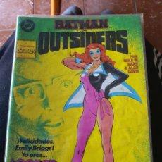 Cómics: BATMAN Y LOS OUTSIDERS NÚMERO 23 (ZINCO). Lote 252978895