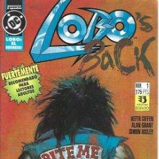 Cómics: LOBO, EL REGRESO, COLECCIÓN COMPLETA, 4 NÚMEROS, EDITORIAL ZINCO. Lote 253081000