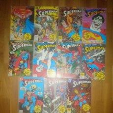 Cómics: SUPERMAN EDITORIAL ZINCO LOTE TACO. Lote 253225610