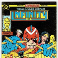 Cómics: INFINITY Nº 14 (THOMAS, MCFARLANE & MONTANA - ZINCO 1987. Lote 253236515