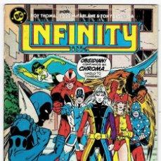 Cómics: INFINITY Nº 11 (THOMAS, MCFARLANE & TONY DEZUNGA - ZINCO 1987. Lote 253236925