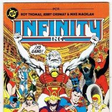 Cómics: INFINITY Nº 7 (THOMAS, JERRY ORDWAY & MIKE MACHLAN) ZINCO 1987 ''BUEN ESTADO''. Lote 253237345