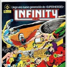 Cómics: INFINITY Nº 4 (THOMAS, JERRY ORDWAY & MIKE MACHLAN) ZINCO 1987 ''BUEN ESTADO''. Lote 253237685