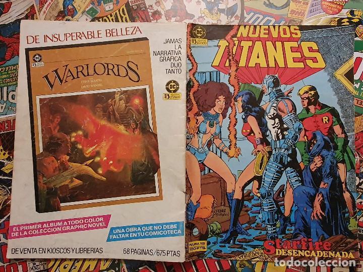 Cómics: NUEVOS TITANES VOL. 1 # 16 (ZINCO) - Foto 2 - 39639321