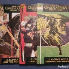 Cómics: GREEN ARROW - EL CAZADOR ACECHA VOL. 1 # 1 - 2 - 3 (ZINCO) - COMPLETA - 1988. Lote 253506550