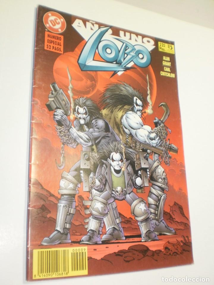 LOBO AÑO UNO. NÚMERO ESPECIAL. DC CÓMICS. 1996 (BUEN ESTADO) (Tebeos y Comics - Zinco - Lobo)