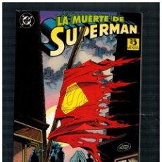 Cómics: LA MUERTE DE SUPERMAN. EL FIN DE UNA LEYENDA. ZINCO 1993. BUENO.. Lote 253553245