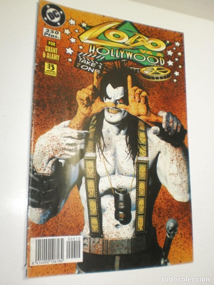 LOBO VA A HOLLYWOOD. DC CÓMICS 1996 (BUEN ESTADO) (Tebeos y Comics - Zinco - Lobo)