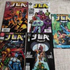 Cómics: JLA - LOTE DE 5 EJEMPLARES ( FORMATO PRESTIGIO ) - EDITA : EDITORIAL VID. Lote 253710640
