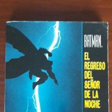 Cómics: BATMAN EL REGRESO DEL SEÑOR DE LA NOCHE ZINCO FRANK MILLER. Lote 253732625