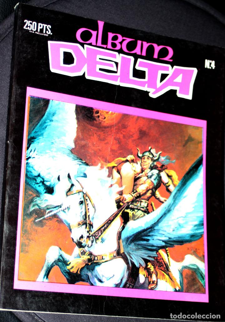 ALBUM DELTA Nº 4 (CON LOS NºS 36 ,37 Y 38 )- EDITORIAL ZINCO (Tebeos y Comics - Zinco - Retapados)