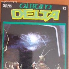 Cómics: ALBUM DELTA RETAPADO Nº 2. CONTIENE LOS NºS 30, 31 Y 32. EXCELENTE ESTADO. Lote 253886495
