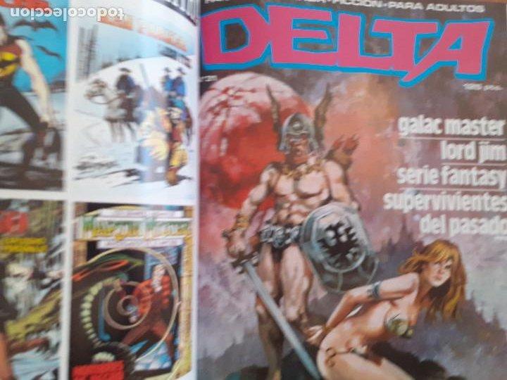 Cómics: Album Delta retapado Nº 2. Contiene los nºs 30, 31 y 32. Excelente estado - Foto 4 - 253886495