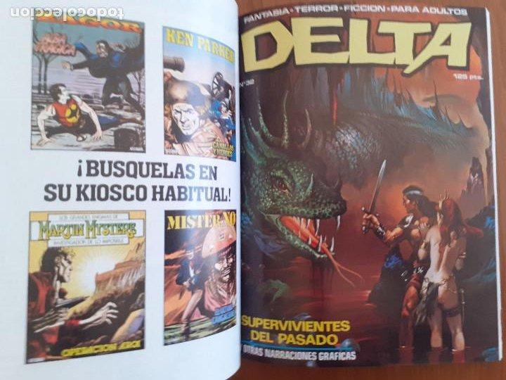 Cómics: Album Delta retapado Nº 2. Contiene los nºs 30, 31 y 32. Excelente estado - Foto 5 - 253886495