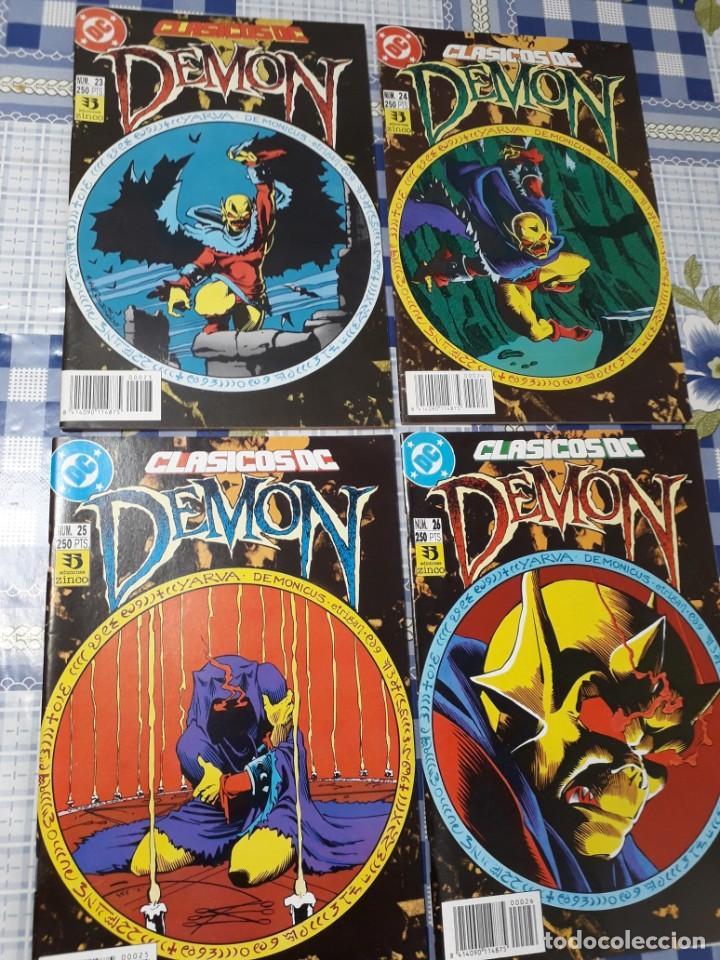 CLASICOS DC SAGA COMPLETA DE DEMON Y COMO COMPLEMENTO LA COSA DEL PANTANO DE ALAN MOORE (Tebeos y Comics - Zinco - Cosa del Pantano)