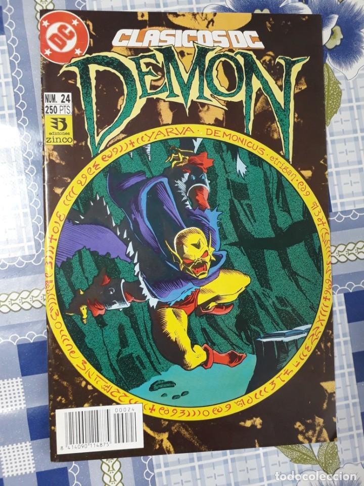 Cómics: Clasicos Dc saga completa de Demon y como complemento la cosa del pantano de Alan Moore - Foto 3 - 254074370
