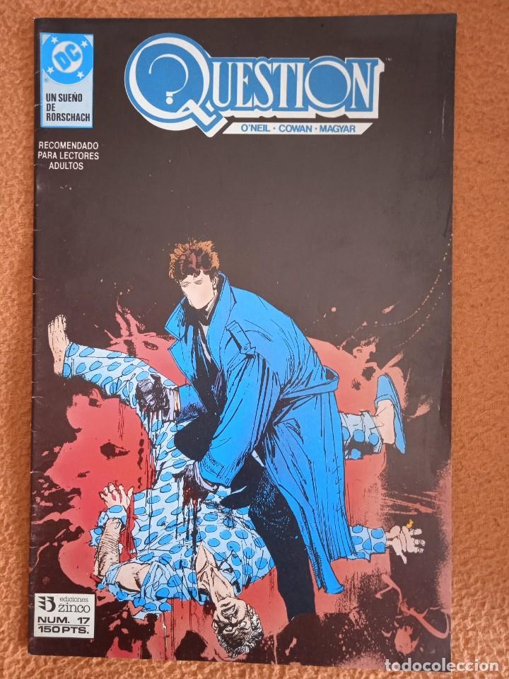Cómics: QUESTION COMPLETA (1988-1991) 36 NUMEROS (FALTANDO EL 29) - Foto 37 - 221795796